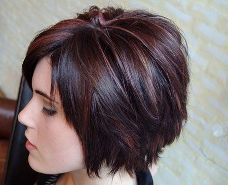 The Short Bob Hairstyle for female pattern baldness
